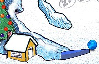 Sneeuwbal Flipperkast
