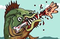 Nourrissent Piranha 2