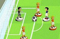Speel nu het nieuwe voetbal spelletje Schuif Voetbal