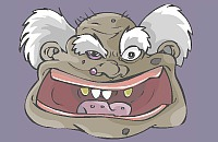 Zähne Brechen