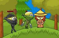 Ninja et la Jeune Fille Aveugle