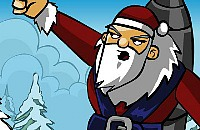 Rakete Weihnachtsmann 1