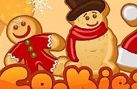 Kekse für der Weihnachtsmann