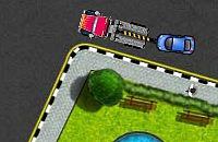 Amerikanischen Abschleppwagen