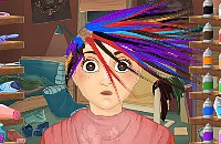 Verrückte Haarschnitte