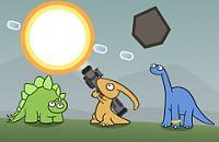 Dinosaurier und Meteore