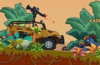 Dinosaurier Truck