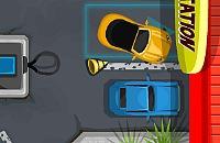 Gas Stazione di Parcheggio