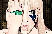 Lady Gaga Top Nails