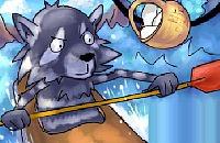 Cool Raccoon Boating