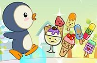 Hongerige Pinguin