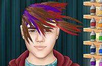 Justin Biebers Kapsel