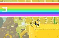 Wütender Bienen