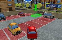 Einkaufszentrum Parkplatz