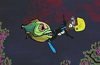 Nourrissent Piranha 3