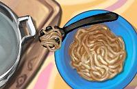 Spaghetti Avec Boulettes De Viande
