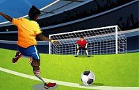 Speel nu het nieuwe voetbal spelletje Penalties Schieten 2012