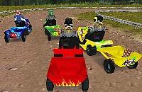 Rasenmäher Racing 3D