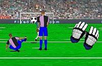 Speel nu het nieuwe voetbal spelletje Doelman