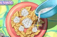 Gerösteten Knusprige Kekse