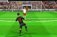Speel nu het nieuwe voetbal spelletje Vrije Trap EK 2012