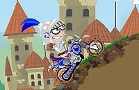 Mittelalterlichen Biker