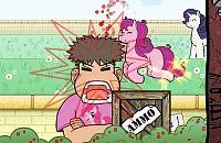 Pony's Neerschieten