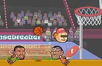 Kickende Köpfe Basketball