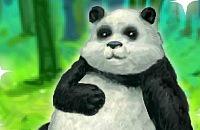Fröhliche Panda