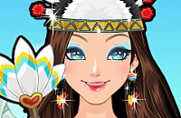 Indian Princess Make Up
