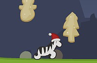 James the Christmas Zebra