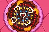 Chocolade Pizza