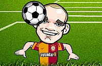 Speel nu het nieuwe voetbal spelletje Sneijder Kopballen