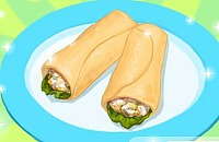 Tasty Tuna Wrap
