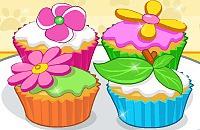Cupcakes met Bloemtjes