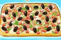 Garnelen Pizza