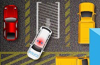 Politieauto Parkeerplaats