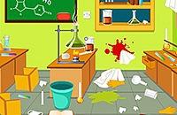 Laboratório Limpar