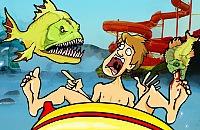 Nourrissent Piranha 5