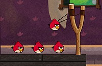 Angry Birds in het Spookhuis