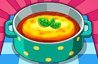 Französisch Zwiebelsuppe