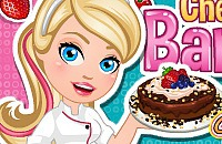Chef Barbie - Chocolate Cheese Cake