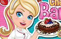 Chef Barbie - Chocolate Cheese Cake