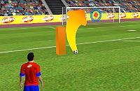 Speel nu het nieuwe voetbal spelletje Vrije Trap Spits