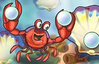 Glückliche Krabbe