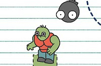 Papierketten - Böse Monster