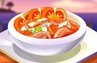 Tomaten Vissoep
