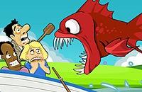 Nourrissent Piranha - Lost Island