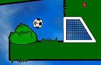 Speel nu het nieuwe voetbal spelletje Goal in One