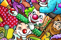 Clown Puzzel